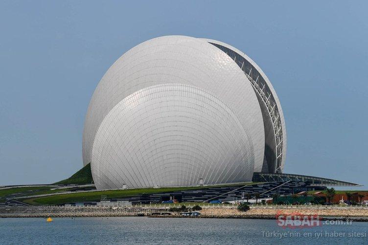 Karşınızda dünyanın en ilginç binaları
