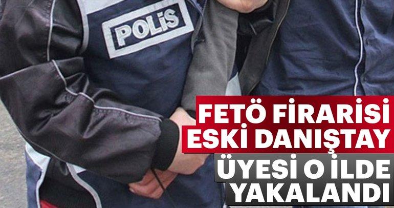 Son dakika: FETÖ firarisi eski Danıştay üyesi İzmir'de yakalandı