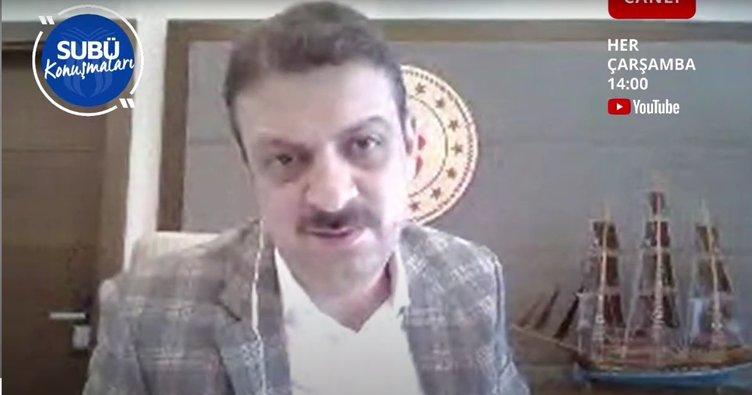 Prof. Dr. Sarıbıyık: Pandemi'yi fırsata çeviyoruz