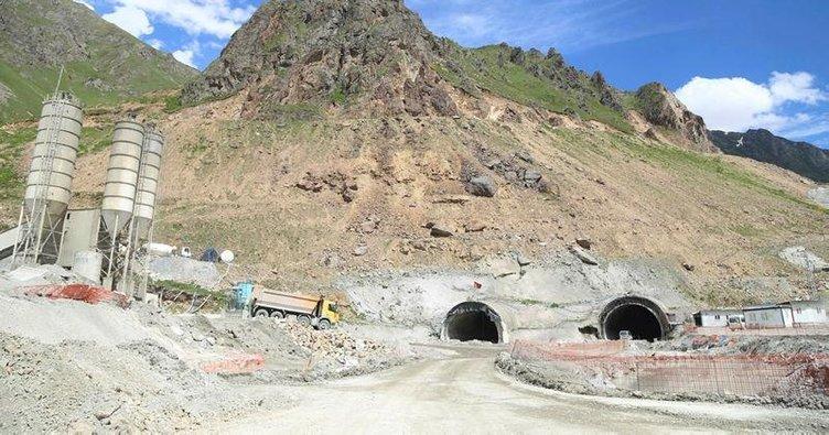 Ovit Tüneli bu yıl hizmete açılacak