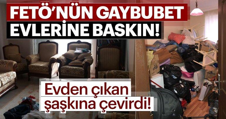 Antalya'da FETÖ'nün Gaybubet evlerine baskın! Evden çıkan şaşkına çevirdi!