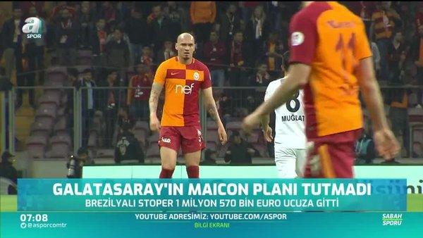 Galatasaray Maicon'dan beklediği geliri elde edemedi