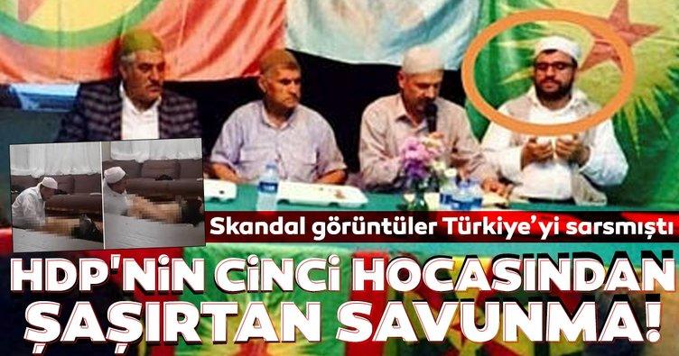 Skandal görüntüler Türkiye'nin gündemine damga vurmuştu! HDP'nin şarlatan hocasından şaşırtan savunma!