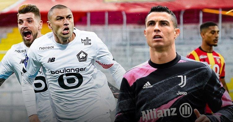 Son dakika: Burak Yılmaz Lille ile şampiyonluğa koşuyor! Tek rakibi Cristiano Ronaldo...