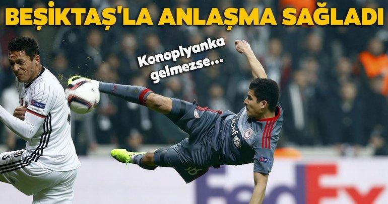 Son dakika Beşiktaş transfer haberleri! Beşiktaş'la anlaşma sağladı