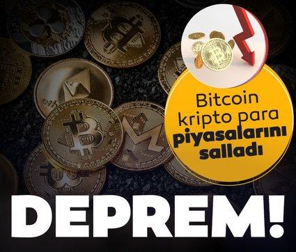 Bitcoin piyasaları salladı! Kripto para piyasalarında deprem