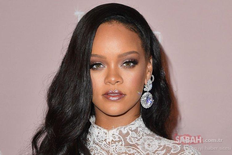 Bu görüntüsü çok konuşulacak! Rihanna yine büyüledi