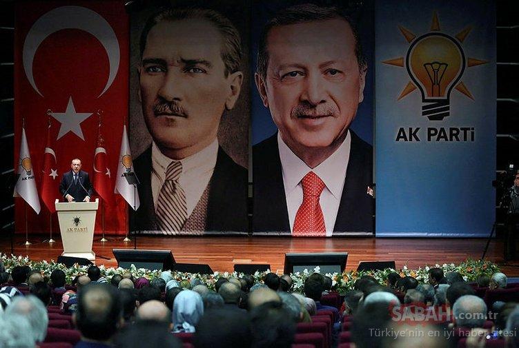 AK Parti toplantısnıda renkli anlar