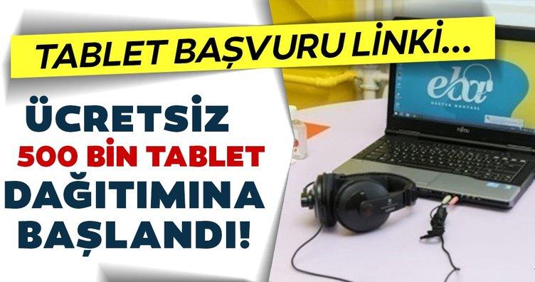 SON DAKİKA - Milli Eğitim Bakanı Ziya Selçuk açıklamıştı: 500 bin ücretsiz tablet başvurusu nasıl yapılır? Bedava table ve laptop başvuru linki
