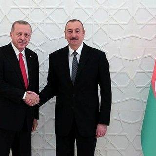 Başkan  Erdoğan Azerbaycan Cumhurbaşkanı Aliyev ile görüştü
