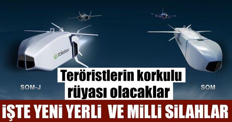 Yabancı silahlara alternatif olacak Türkiye'nin yerli silahları!