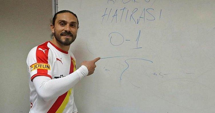 Göztepe'nin 'Totti'si!