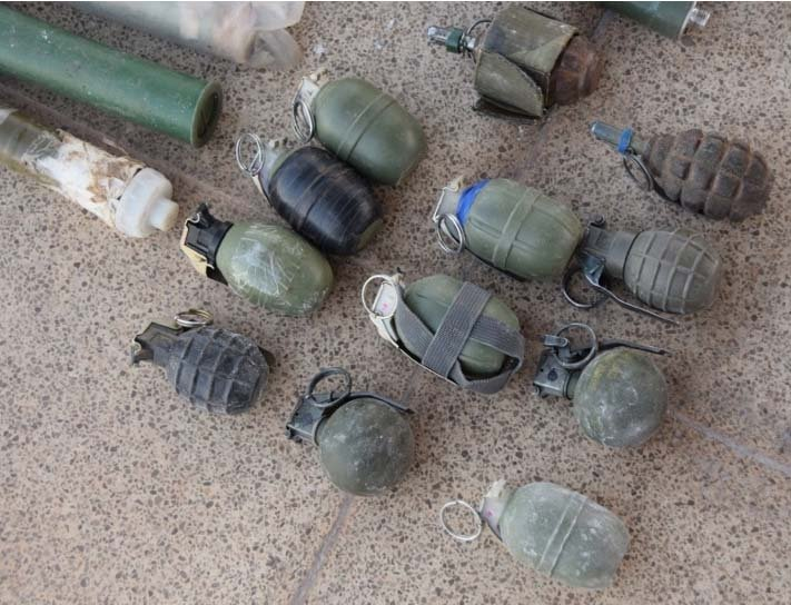 Tatvan'da PKK'ya ait çok sayıda mühimmat ele geçirildi