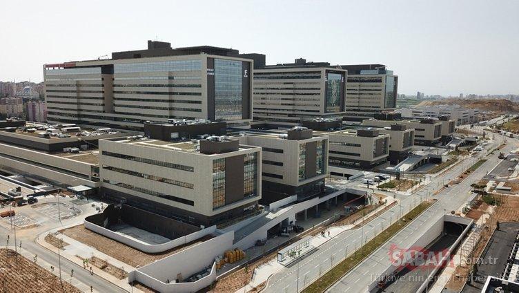 Bugün hizmete giriyor! İşte Başakşehir Çam ve Sakura Şehir Hastanesi'nin özellikleri