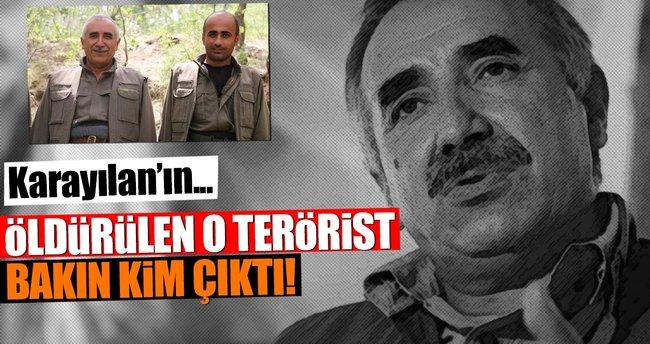 Öldürülen terörist Karayılan'ın sağ kolu çıktı!