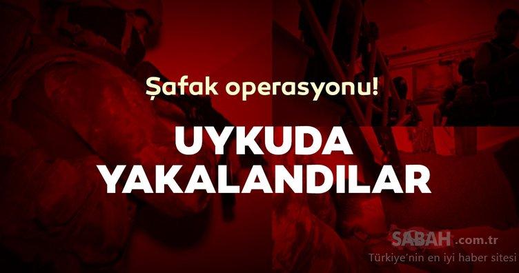 Bursa ve İstanbul'da şafak operasyonu!