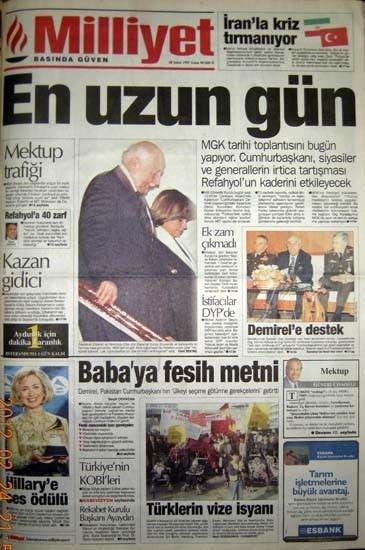 28 Şubat'ın utanç manşetleri