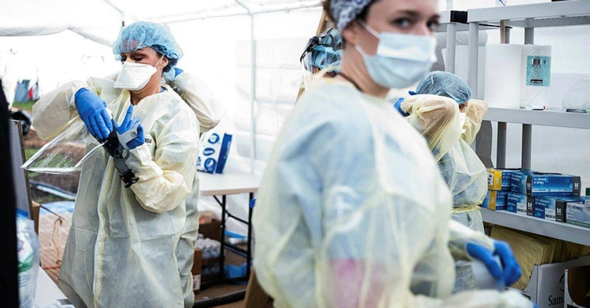 Belçika'da son 24 saatte koronavirüsten 283 ölüm