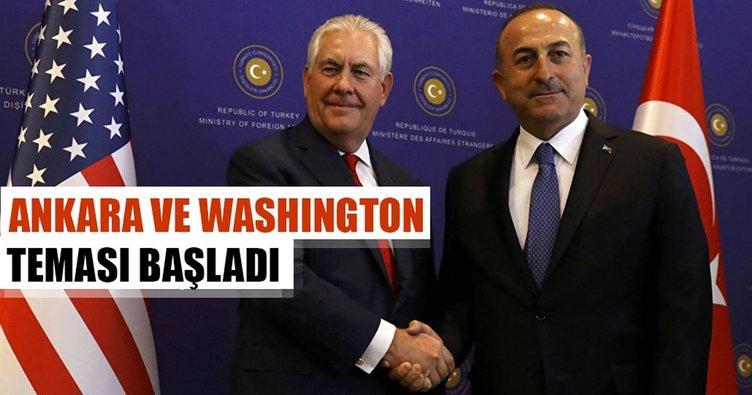 Ankara ve Washington teması başlıyor