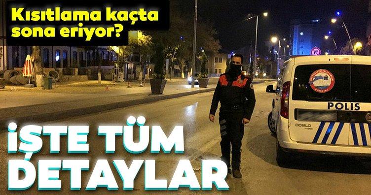SON DAKİKA HABERLER: Türkiye sessizliğe büründü! Sokağa çıkma kısıtlaması ne zaman sona eriyor? İşte tüm detaylar
