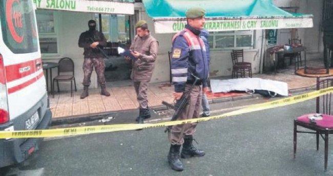 Kahvehane tarandı: 3 ölü, 7 yaralı