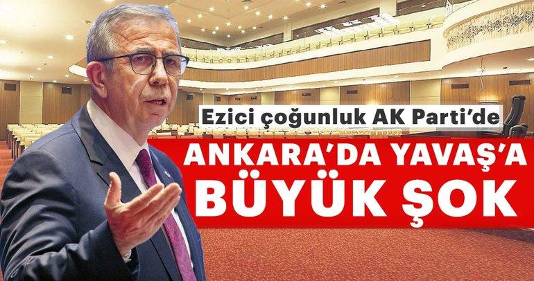 Mansur YavaÅ?â??a Belediye Meclisiâ??nde Å?ok: Ankaraâ??da denge ve denetim AK Partiâ??de