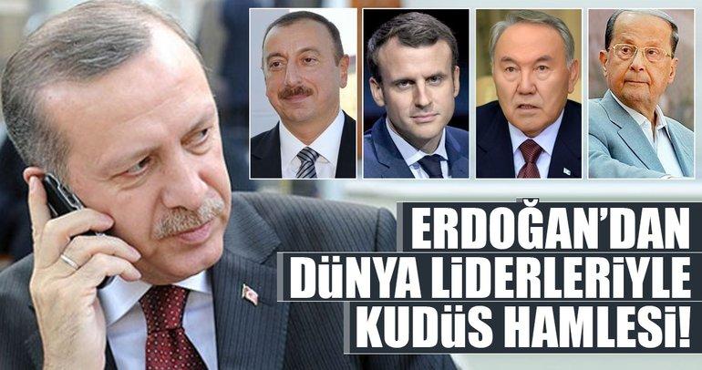 Son dakika: Cumhurbaşkanı Erdoğan'dan flaş Kudüs hamlesi!