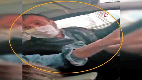 Son dakika! İstanbul'da kadın müşteriye taksici dehşeti!    Video