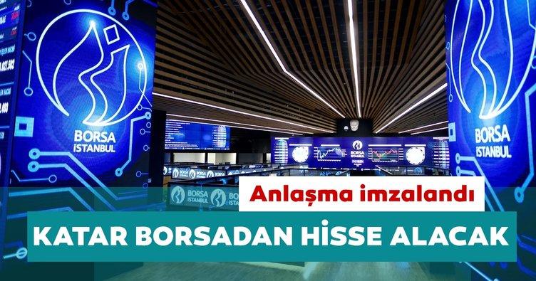 Türkiye anlaşma imzalandı: Katar Borsa İstanbul'dan hisse alacak