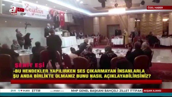 CHP'li Zeydan Karalar'dan skandal hareket! Şehit eşini salondan kovdu
