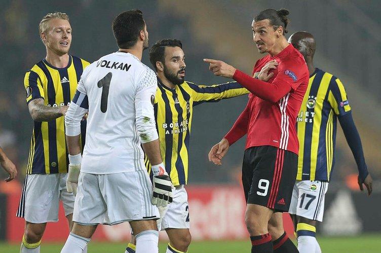 Fenerbahçe-Manchester United maçından kareler