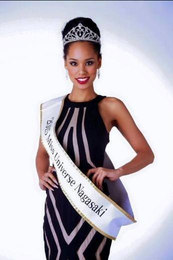 Japonya'nın yeni güzellik kraliçesi yarı Afrikalı