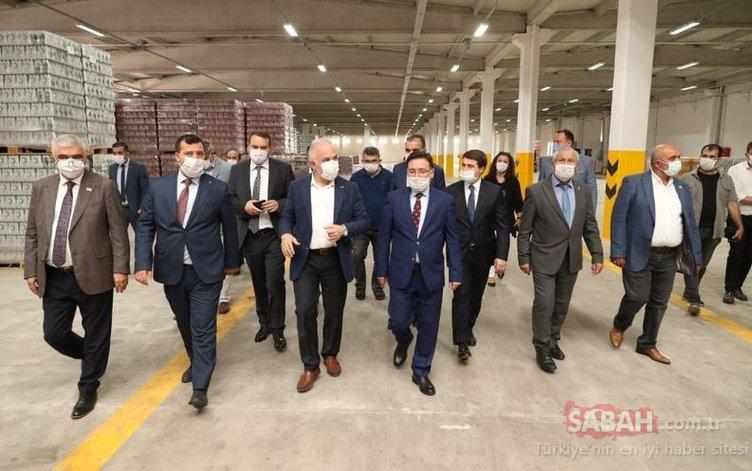 Kızılay İçecek Afyonkarahisar'da yeni Ar-Ge merkezini hizmete açtı