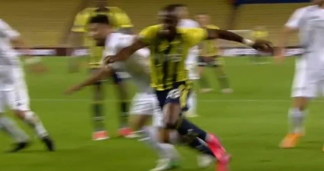 İşte Fenerbahçe'nin Konyaspor maçında penaltı beklediği pozisyon