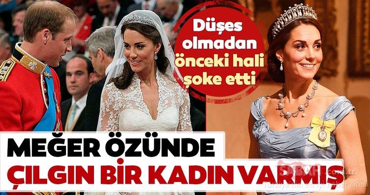 Kraliyet ailesinin gözde üyesi Kate Middleton düşes olmadan önceki haliyle şoke etti! İşte Kate Middleton'ın şaşırtan görüntüleri...