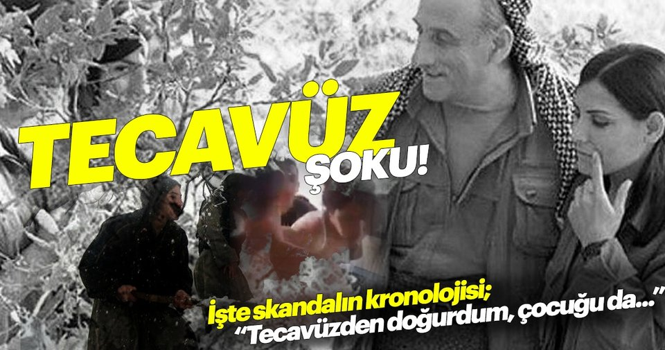 """PKK'da istismar kronolojisi: şikayet, hapis, infaz! """"Tecavüzden doğurdum, çocuğu..."""" - Son Dakika Haberler"""
