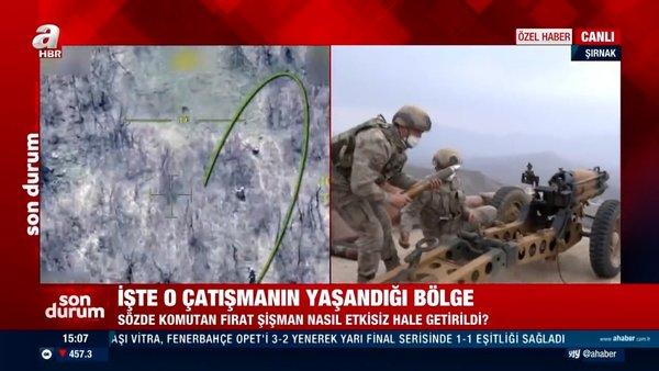 PKK'lı 10 terörist öldürüldü! Mehmetçikler canlı yayında böyle vurdu