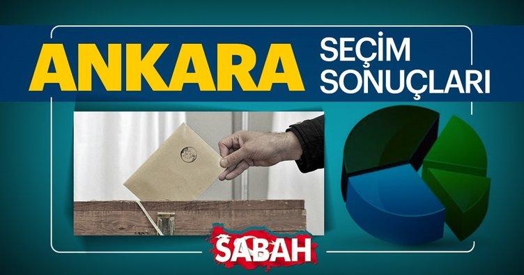 Sandıklar açıldı! Ankara seçim sonuçları açıklanıyor! İşte 31 Mart 2019 Ankara yerel seçim sonucu ve oy oranları