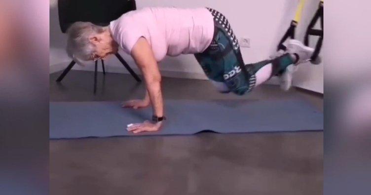 ABD'nin en fit büyükannesi 81 yaşında