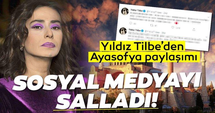 Yıldız Tilbe'den son dakika Ayasofya paylaşımları sosyal medyayı salladı! Yıldız Tilbe'nin Ayasofya kararına duyduğu sevinç beğeni yağmuruna tutuldu!