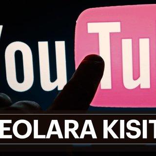YouTube'dan ilave kısıtlama