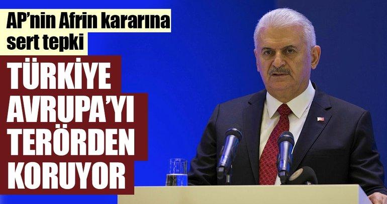 Türkiye Avrupa'yı terörden koruyor