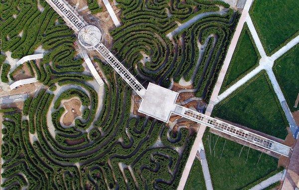 Çinliler dünyanın en büyük labirentini inşa etti