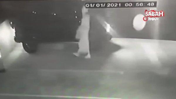 Kadın kılığında otoparka girdi, 5 milyonluk lüks cipi çaldı