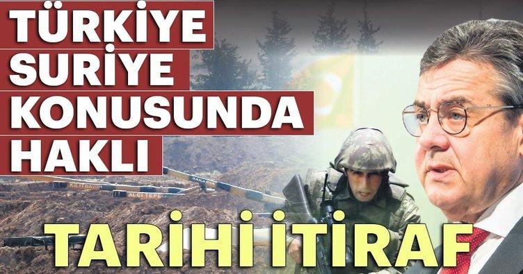 Türkiye Suriye konusunda haklı