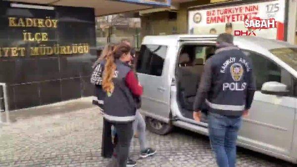 İstanbul Kadıköy'de yaşlı kadına şiddet uygulayan bakıcı gözaltına alındı | Video