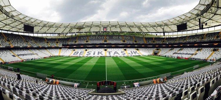 Vodafone Arena'da taraftarı bekleyen sürpriz!