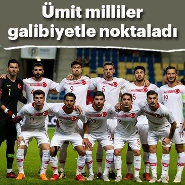 Türkiye galibiyetle noktaladı