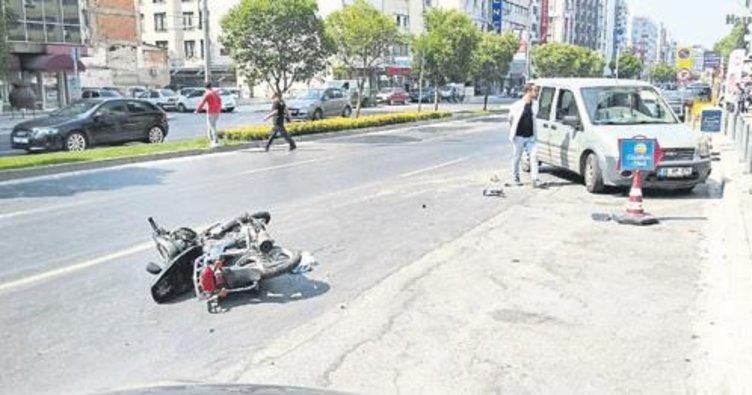 Motosiklet hırsızı çocuklar yakalandı