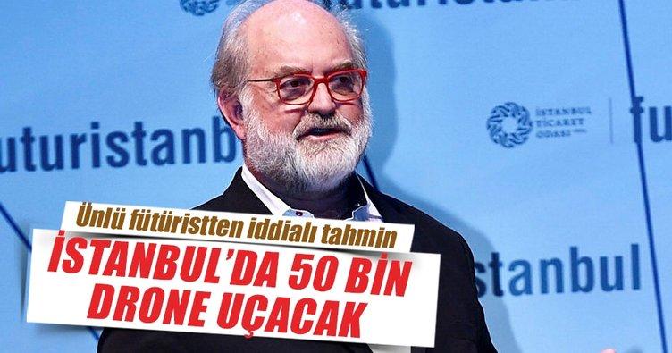 Frey: İstanbul'da 50 bin drone uçacak
